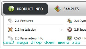 As3 Drop Down Menu Easy Demo #943  Rate It!