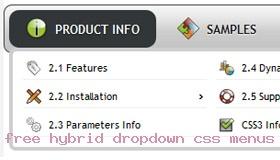 3d Black Css Menu Toolbar Demo #708  Rate It!