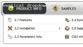 Blueprint css menubar demo 614 rate it vertical dropdown menu css tutorial malvernweather Gallery