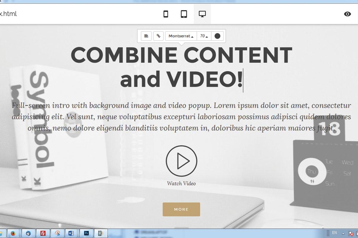 Offline Responsive Web Site Builder Review
