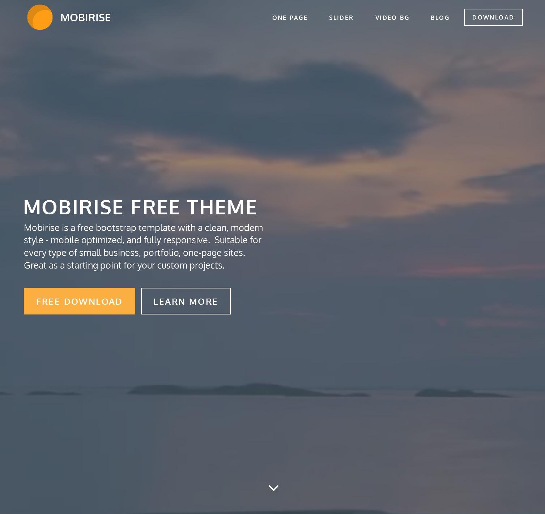 Responsive Bootstrap Blog Theme