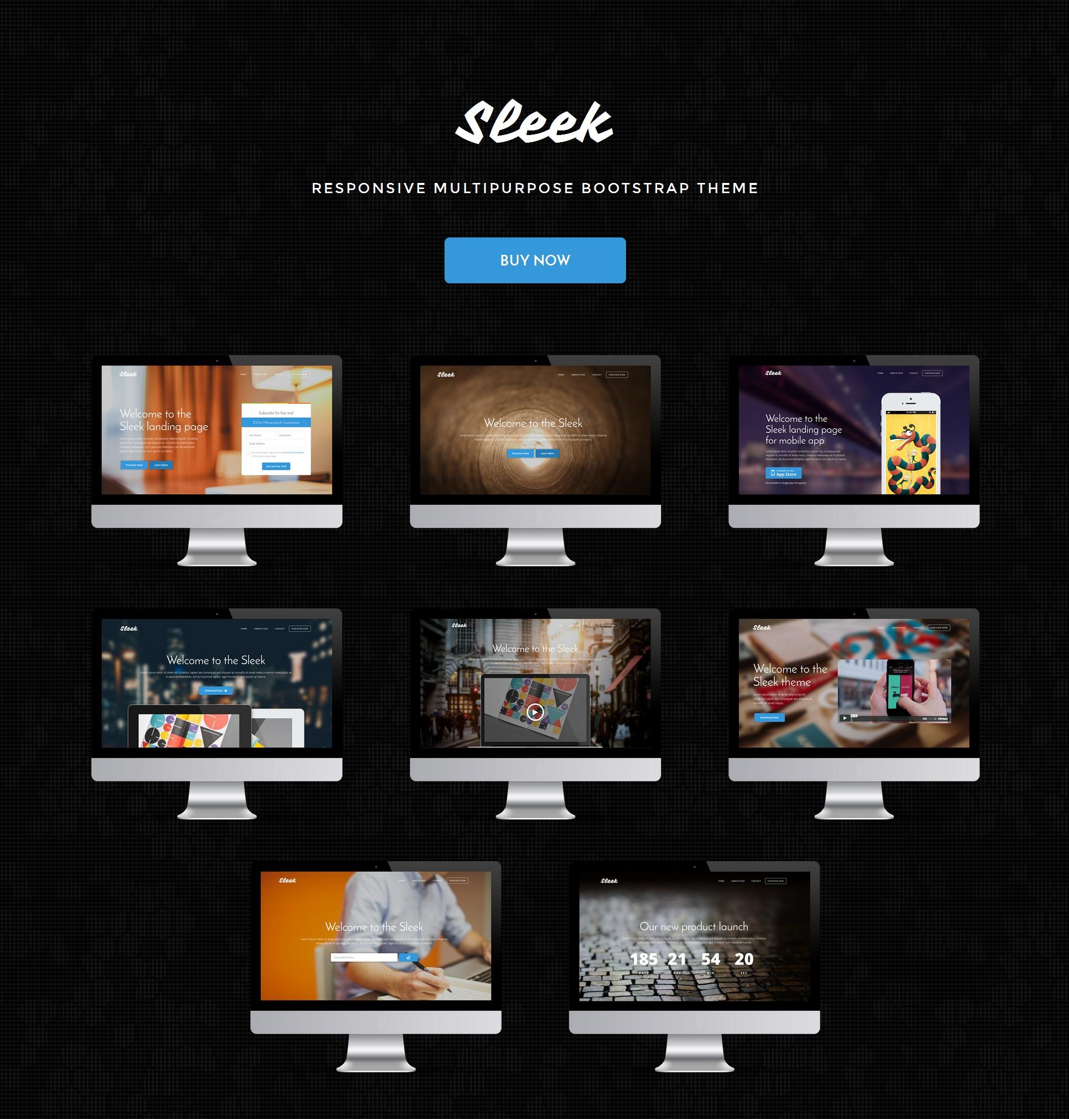 HTML5 Bootstrap Design Theme