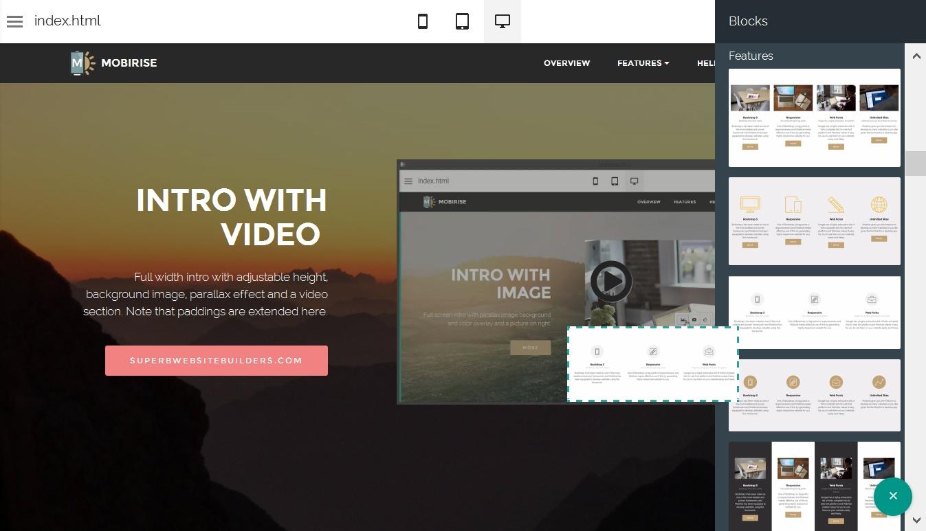 HTML5 Web Generator