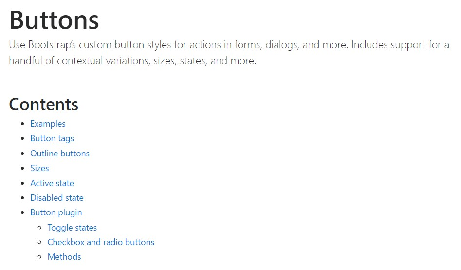 Bootstrap toggle  formal  information