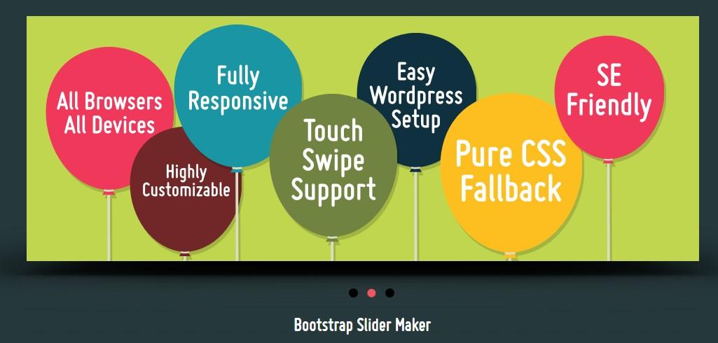 Bootstrap Slider With Thumbnail Navigation