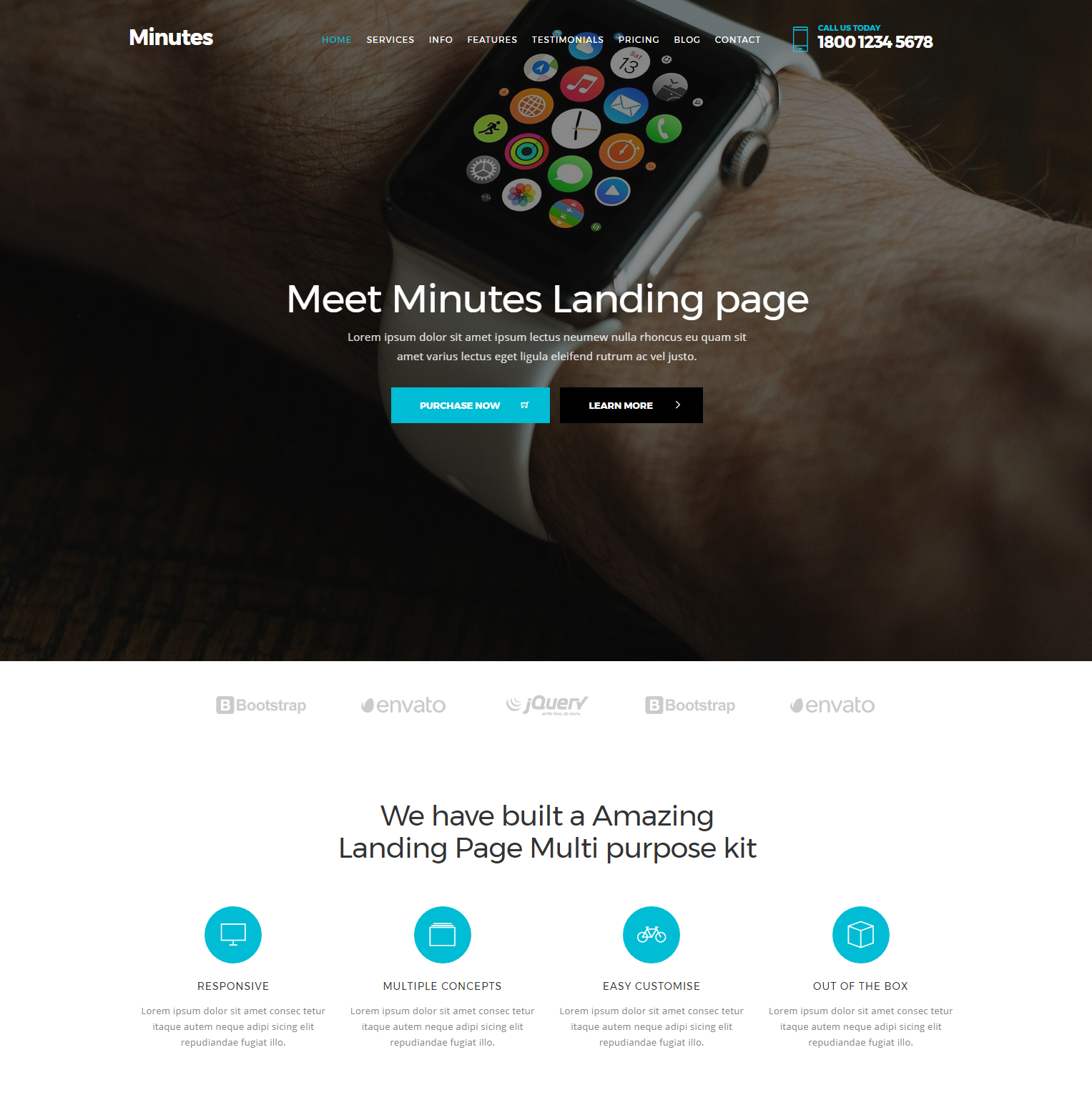 Free Bootstrap Minutes Themes