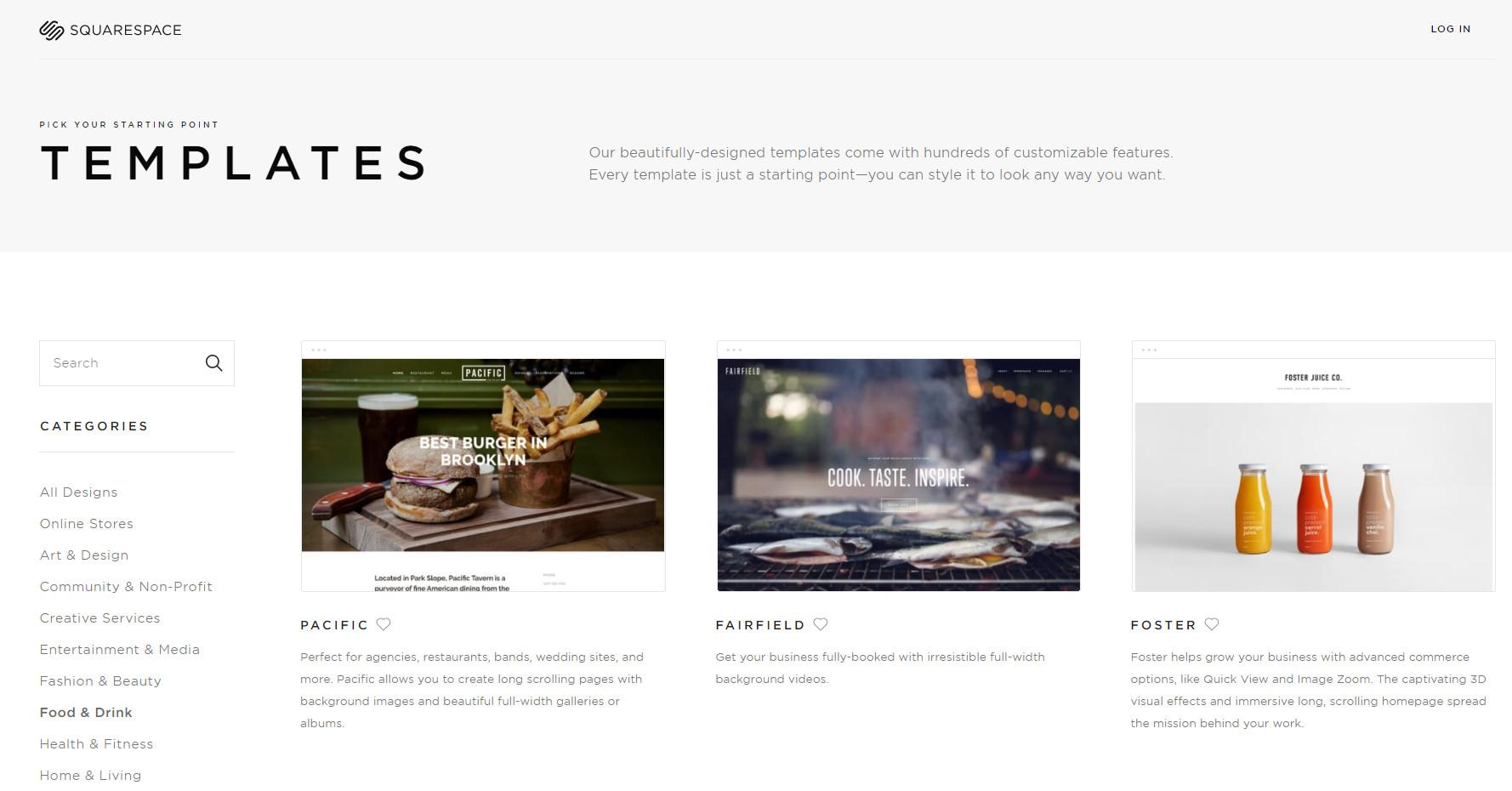 squarespace domain, squarespace blog, squarespace login, best website builders